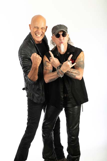 Photo of Accept, whose new album 'Too Mean To Die' is out in January