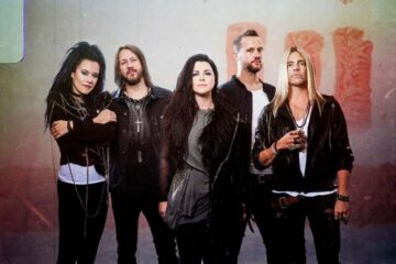 Photo of the band Evanescence