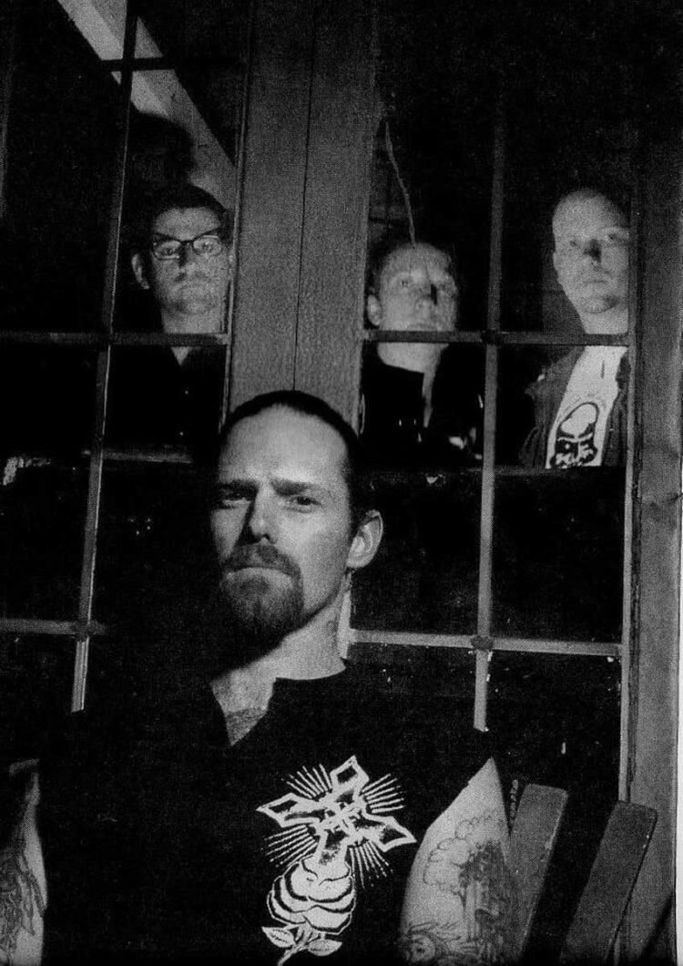 Photo of Punk band Fang