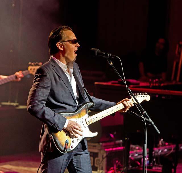 Joe Bonamassa Live at The Sage, Gateshead. 14th March 2018 Photo By Mick Burgess