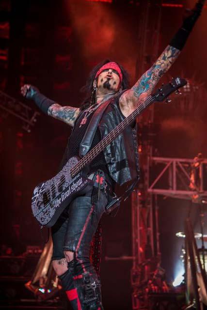 Mötley Crüe, The End. Photo: Dustin Jack