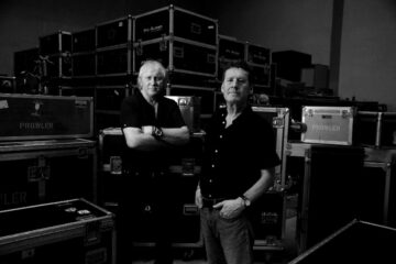 Trev Pattenden and Martin Burrows from NWOBHM band Prowler.