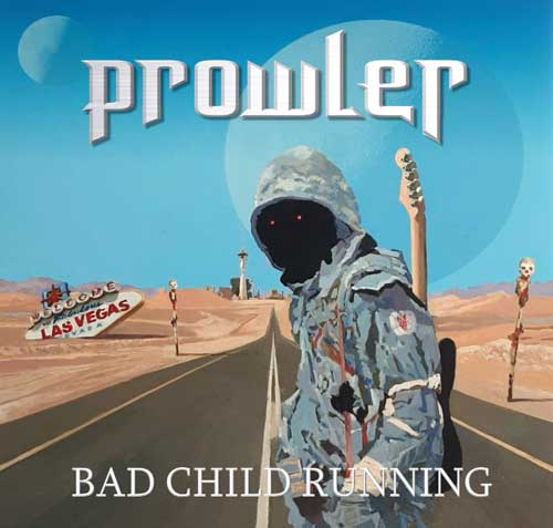 Cover of Bad Child Running by Prowler
