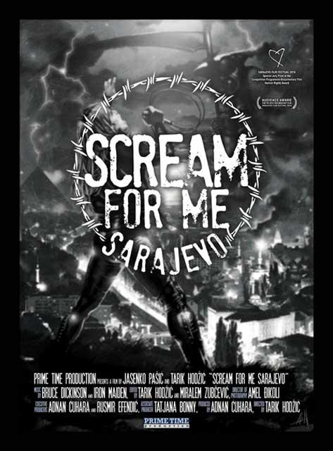 Scream For Me Sarajevo fim poster