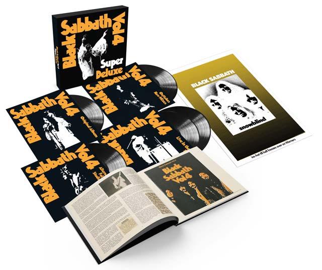 Photo of Black Sabbath - Vol 4 - Presentation set