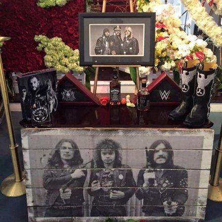 Photo of Lemmy's shrine