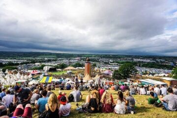 Photo from Glastonbury festival