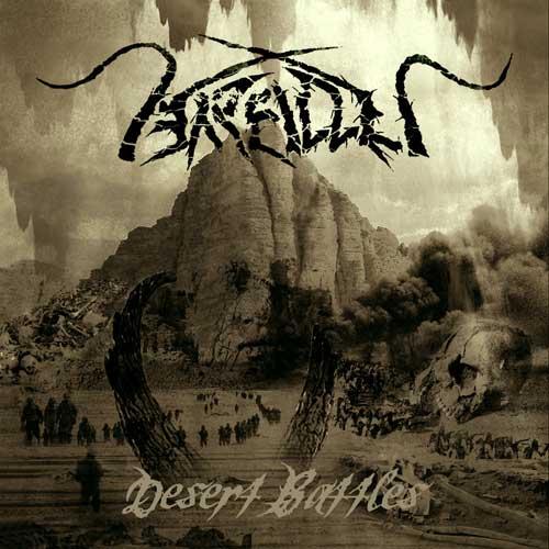 Photo of the cover for Desert Battles, by Arallu