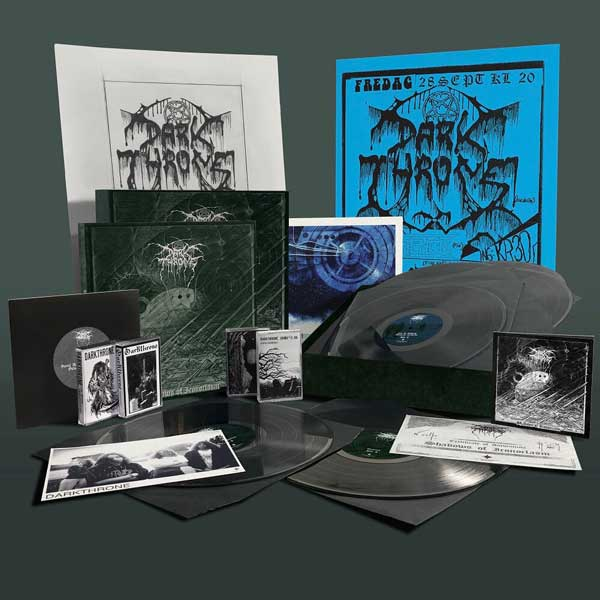 Darkthrone - photo of the glorious, limited edition box set – Shadows Of Iconoclasm