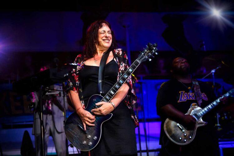 Chicago-based Blues slide guitar virtuoso and singer-songwriter Joanna Connor