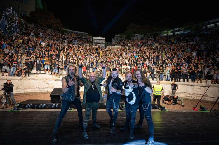 Photo of U.D.O from their Live in Bulgaria 2020 – Pandemic Survival Show