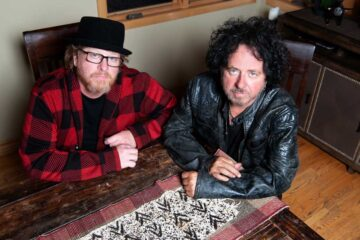 Photo of Joseph Williams and Steve Lukather.