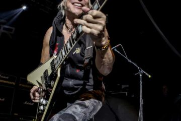 Photo of German guitarist Michael Schenker