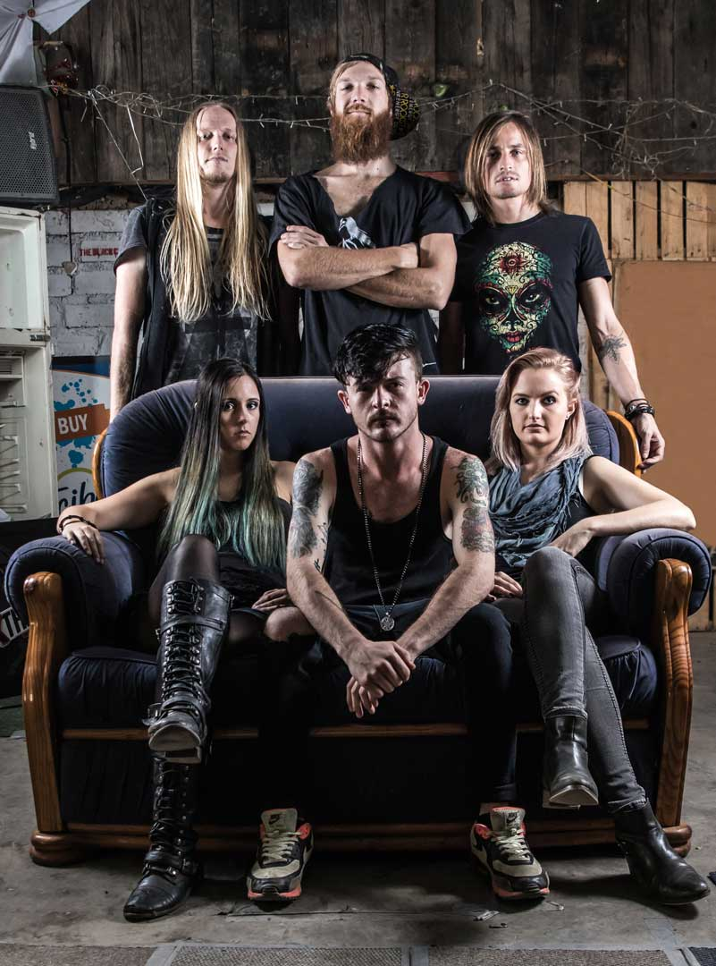 Photo of the band Riddlebreak