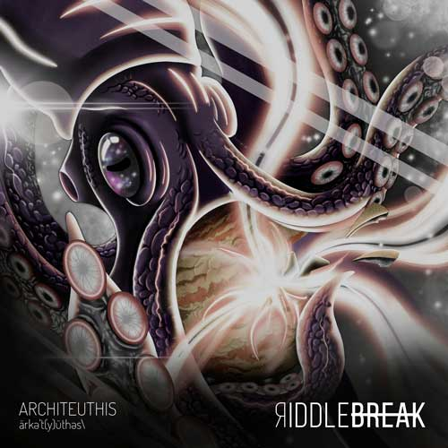 Cover of the new EP from Riddlebreak
