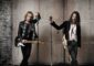 Guitarists Adrian Smith and Richie Kotzen