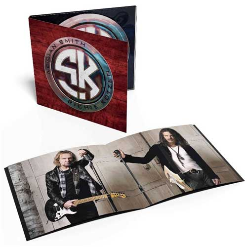 Photo of the album Smith/Kotzen by Guitarists Adrian Smith and Richie Kotzen
