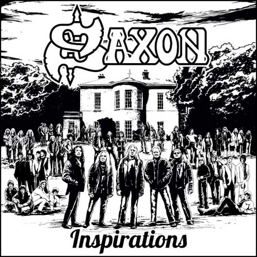 Cover of Saxon's Inspirations album