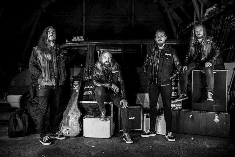 Photo of Swedish band The Hawkins