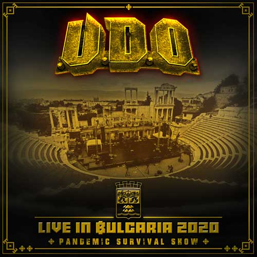Cover of Live in Bulgaria 2020 – Pandemic Survival Show from U.D.O