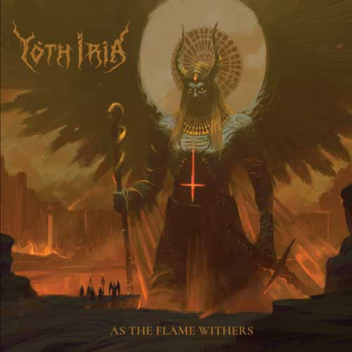 Cover of the album As The Flame Withers by Yoth Iria