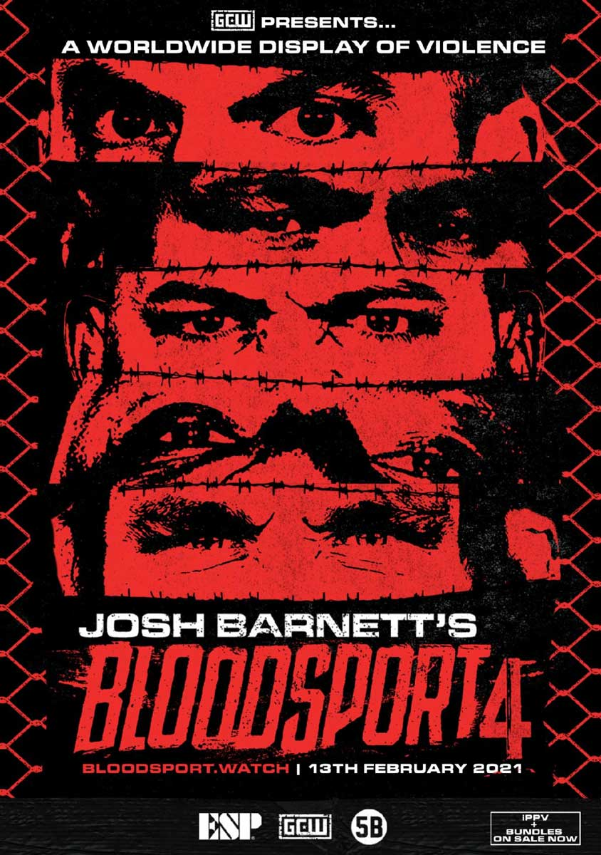 Poster for bloodsport 4 and 5