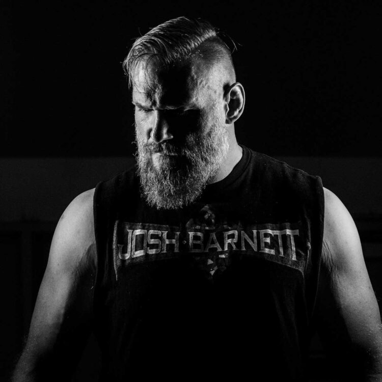 Photo of pro wrestler Josh Barnett