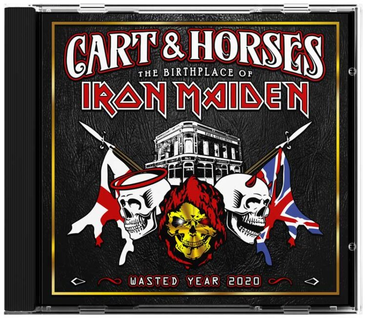 Cover of Wasted Years 2020, the Cart & Horses CD