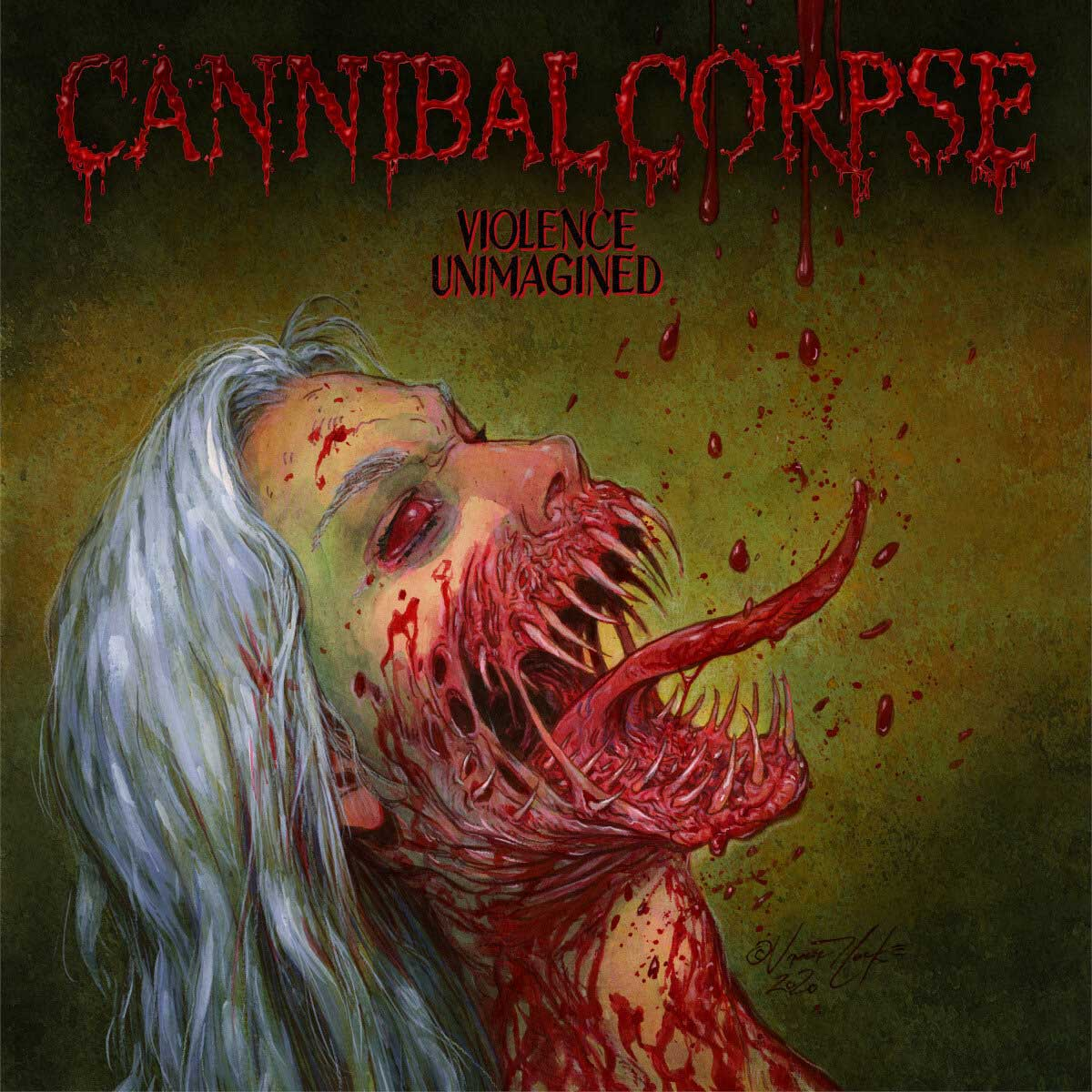 Cover of the album Violence Unimagined, from Cannibal Corpse