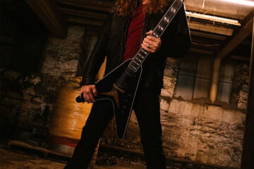 Photo of Dave Mustaine from Megadeth