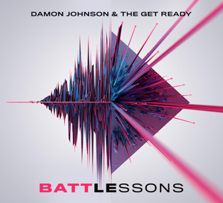 Cover of Battle Lessons, from Damon Johnson & The Get Ready
