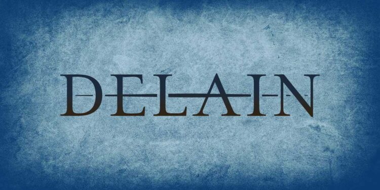 Logo of Delain, from The netherlands