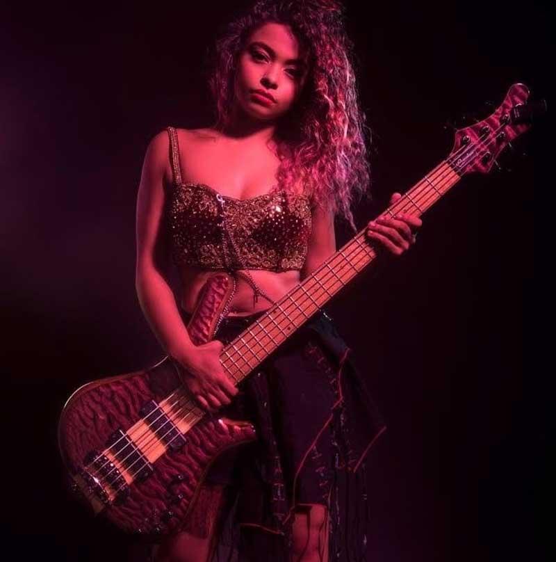Photo of bass prodigy Mohini Dey
