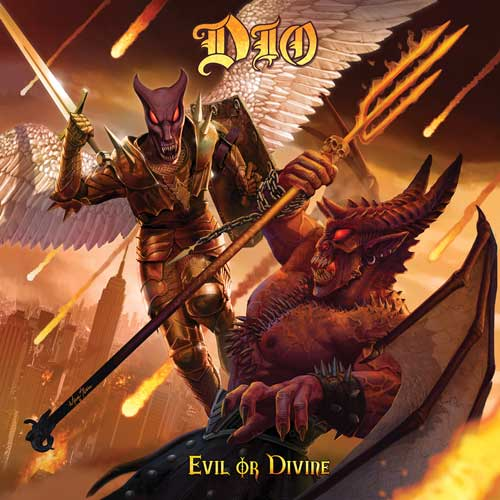 Cover of Evil Or Divine by Ronnie James Dio