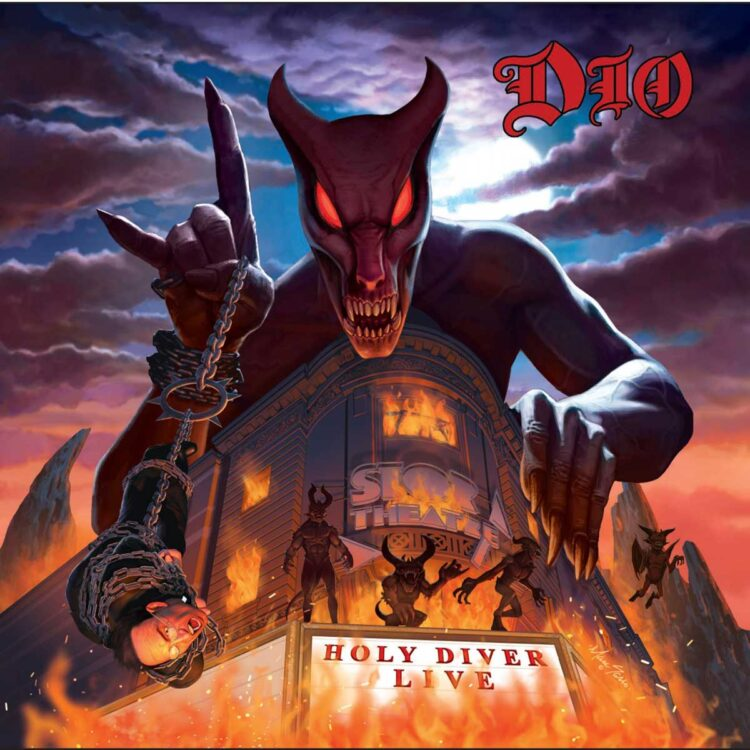 Cover of Holy Diver Live, from Ronnie James DIO