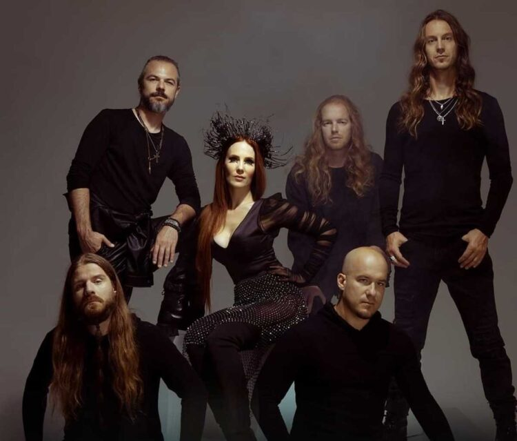 Photo of the Symphonic band Epica