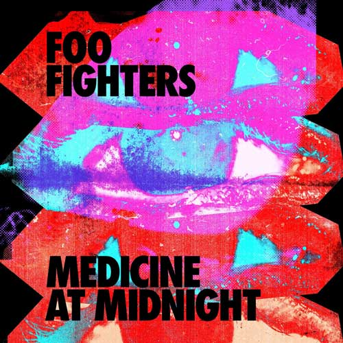 Cover of Medicine at Midnight, by Foo Fighters