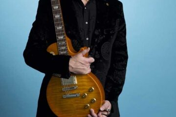 Photo of the guitar legend Gary Moore