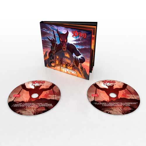 Photo of the DIO Holy Diver live package
