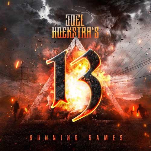 Cover of Running Games, by Joel Hoekstra's 13