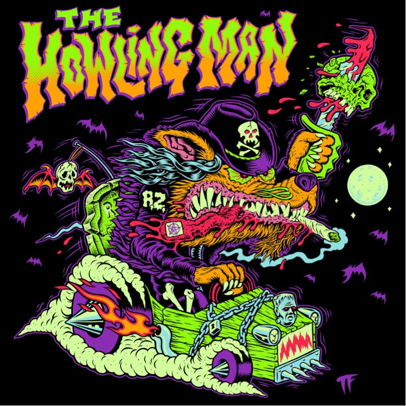Photo of the cover of The Eternal Struggles Of The Howling Man by Rob Zombie