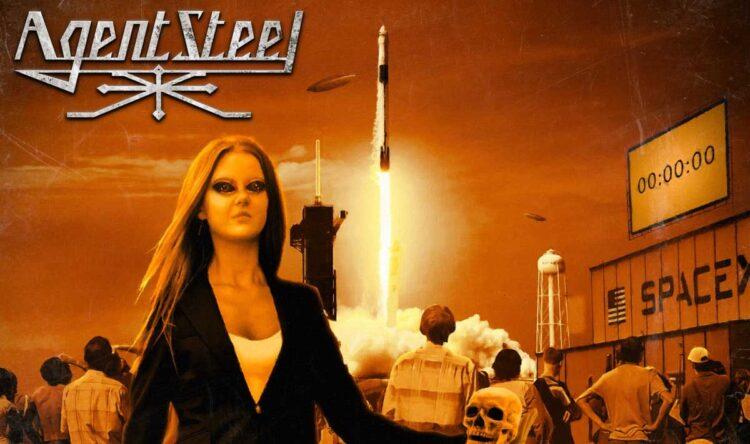 Cover of Agent Steel new album