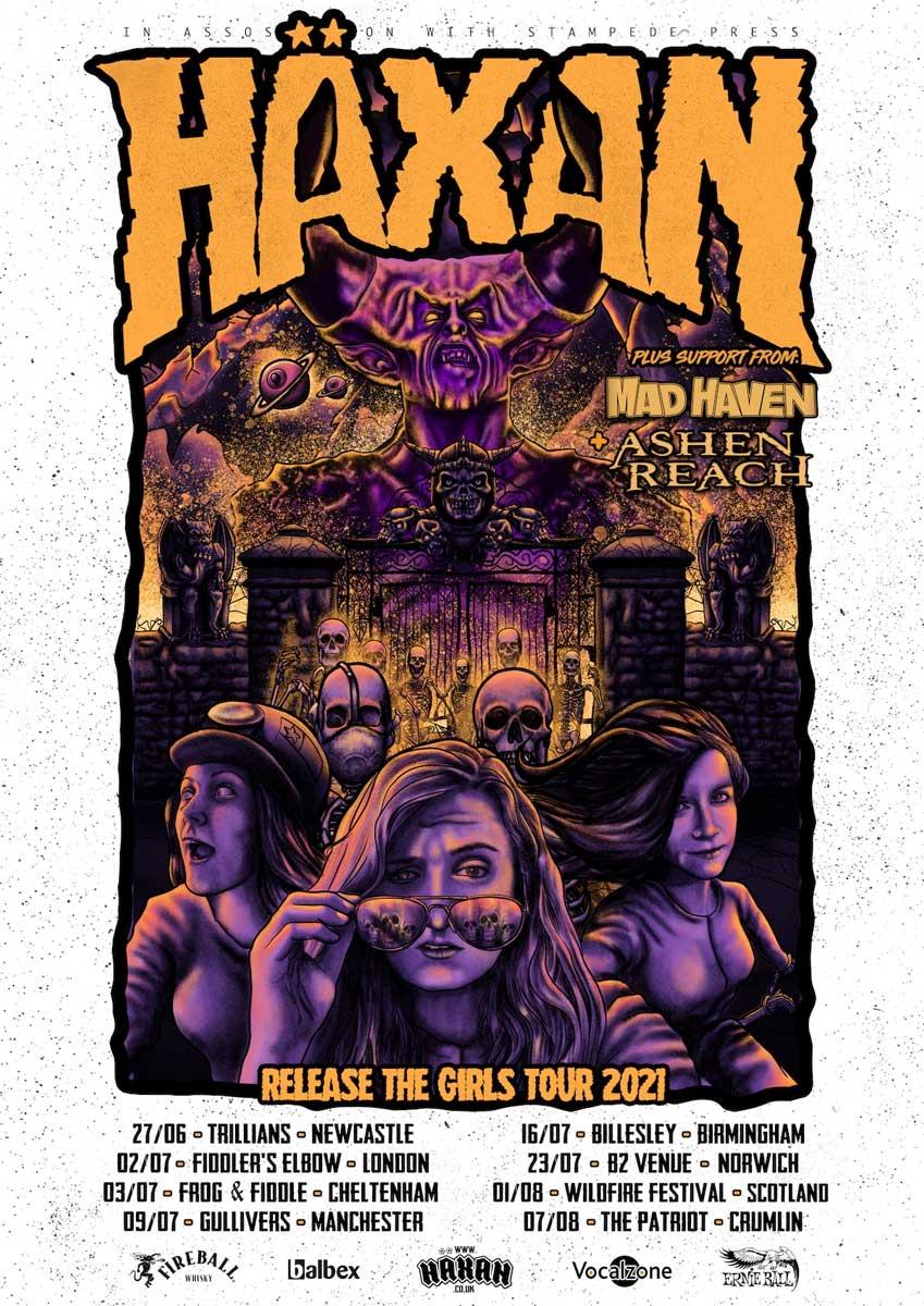 Häxan tour poster 2021