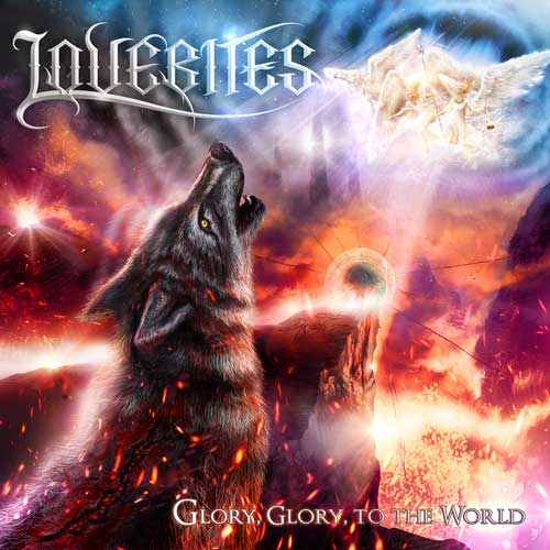 Cover of GLORY, GLORY, TO THE WORLD , from Lovebites