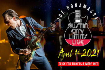Poster for Joe Bonamassa will perform at Austin City Limits Live