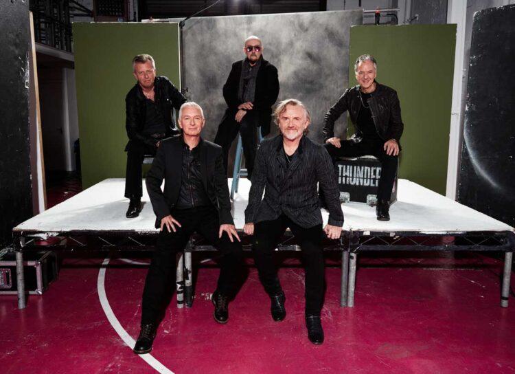 Photo of the band Thunder