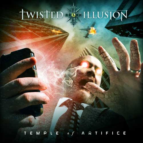 Cover of Temple of Artifice from Twisted Illusion