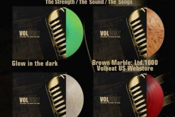 Volbeat vinyl selection for The Strength/The Sound/The Songs
