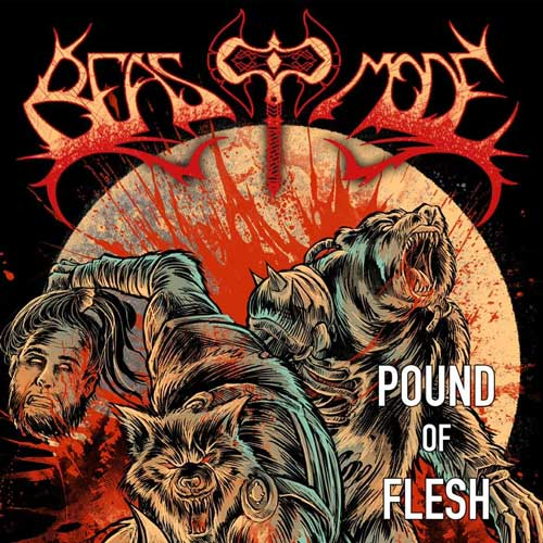 Cover of Pound Of Flesh from Heavy Metal band Beast Mode