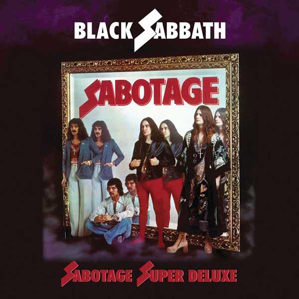 Black Sabbath Sabotage cover